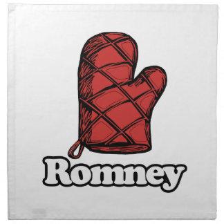 Horno Mitt Romney Servilleta Imprimida