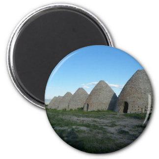 Hornos del carbón de leña de la sala imán redondo 5 cm