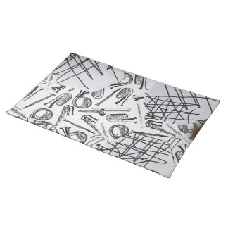 HORNS AND THINGS CLOTH PLACEMATS