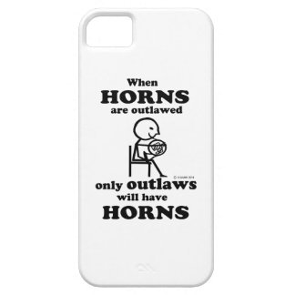 Horns Outlawed iPhone SE/5/5s Case