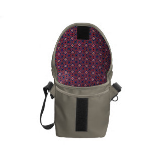 Horns Pattern Courier Bag