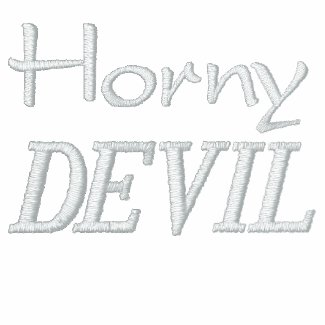 Horny Devil Embroidered Jacket embroideredshirt