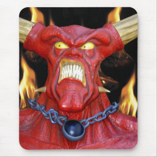 Horny Devil Man Mouse Pad