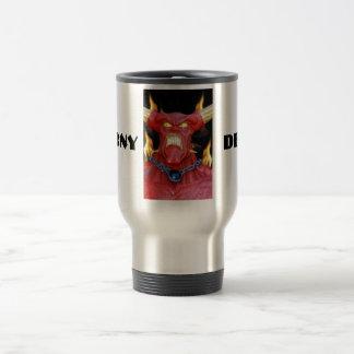 Horny Devil Man 15 Oz Stainless Steel Travel Mug