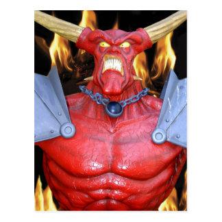 Horny Devil Man Post Cards
