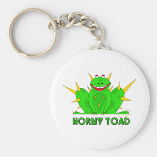 Horny Toad Basic Round Button Keychain