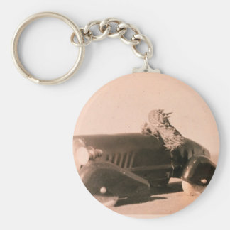 Horny Toad Car Basic Round Button Keychain