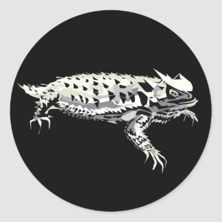 Horny Toad Classic Round Sticker