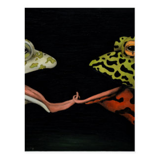 Horny Toads Postcard