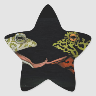 Horny Toads Star Sticker