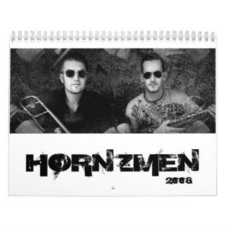 HORNZMEN, calendario 2008