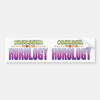Horology 2 Obsessed Bumper Sticker