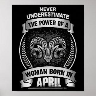 Horoscope April Poster