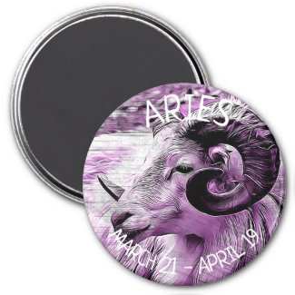 Horoscope Aries Magnet