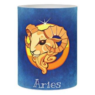 Horoscope Aries, The Ram LED Candle
