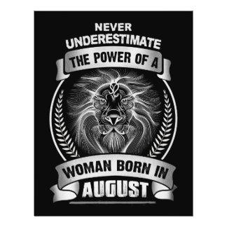 Horoscope August Flyer