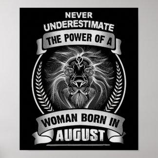 Horoscope August Poster