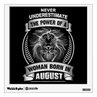Horoscope August Wall Decal