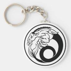 Horoscope Capricorn Zodiac Sign Keychain