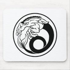 Horoscope Capricorn Zodiac Sign Mouse Pad