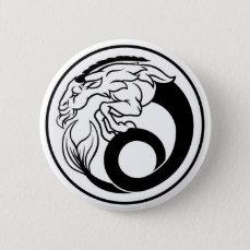 Horoscope Capricorn Zodiac Sign Pinback Button