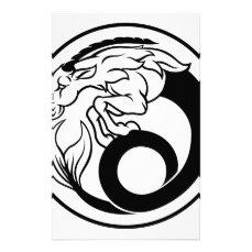 Horoscope Capricorn Zodiac Sign Stationery