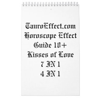 Horoscope Effect Guide 18+ Calendar