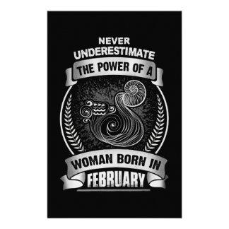 Horoscope February Flyer