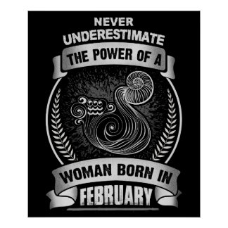 Horoscope February Poster