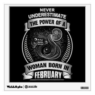 Horoscope February Wall Sticker