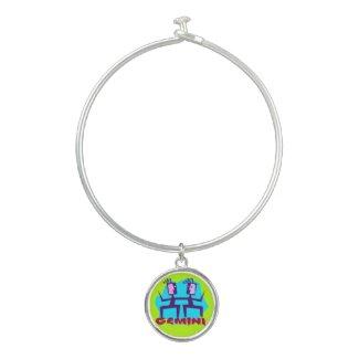 Horoscope Gemini Symbol Sign Charm Bracelet