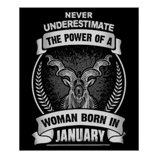Horoscope January Poster