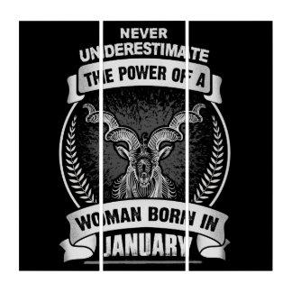 Horoscope January Triptych