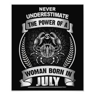 Horoscope July Photo Print