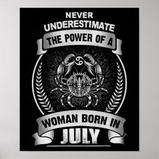 Horoscope July Poster