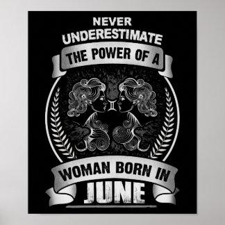 Horoscope June Poster