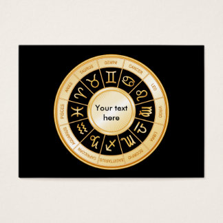 Horoscope Mandala Business Card