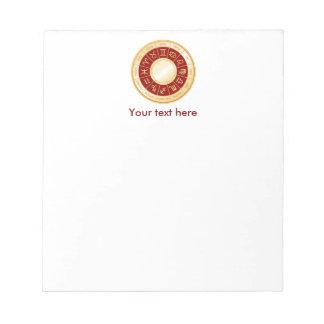 Horoscope Mandala Notepad