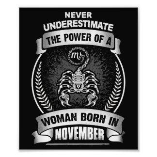Horoscope November Photo Print