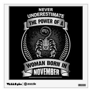 Horoscope November Wall Decal