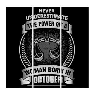 Horoscope October Triptych