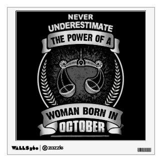 Horoscope October Wall Sticker