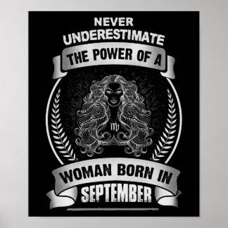 Horoscope September Poster