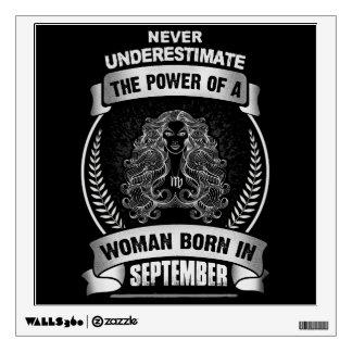 Horoscope September Wall Sticker
