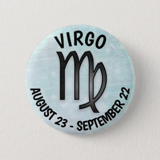 Horoscope Sign Virgo Button