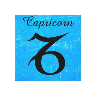 Horoscope Zodiac Astrological Capricorn Wall Art