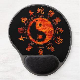 Horóscopo chino. alfombrillas con gel