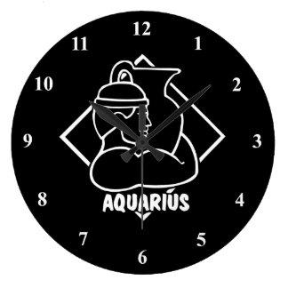 Horóscopo de la astrología del cumpleaños de la reloj redondo grande