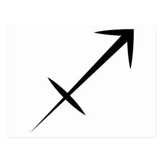 horóscopo griego de la astrología del zodiaco del postal