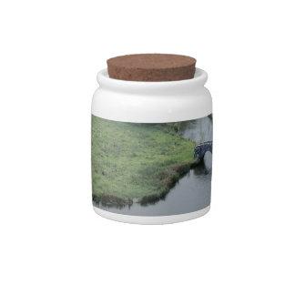Horqueta del río en Haddon Pasillo Platos Para Caramelos